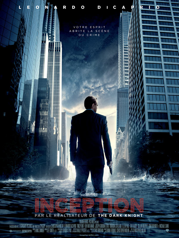 Inception -Film avec Leonardo Di Caprio